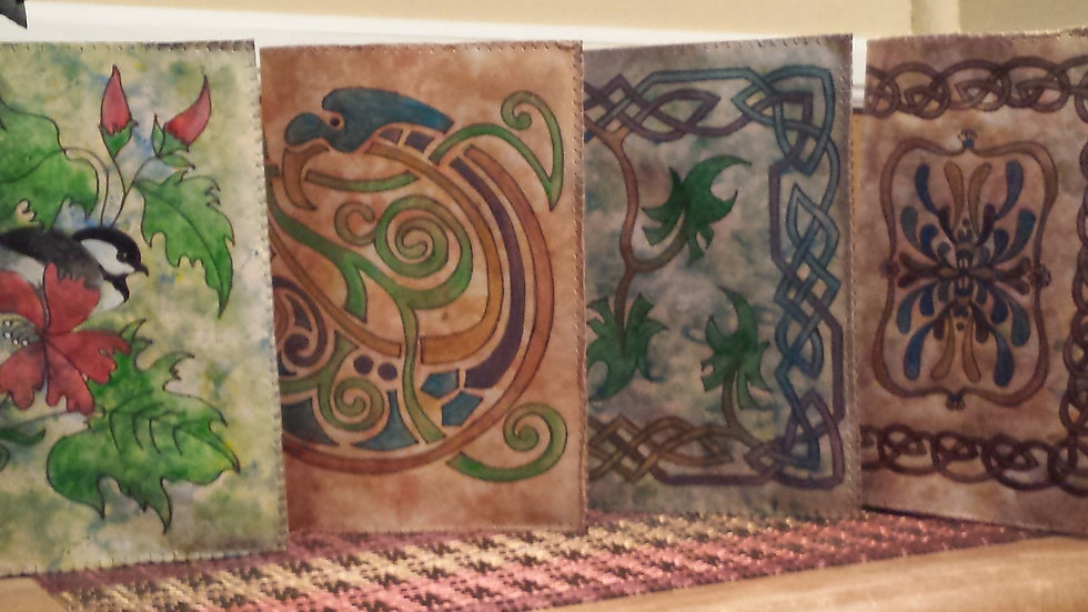 Leather Journal Covers with Journal