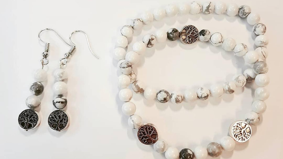 Healing with Howlite