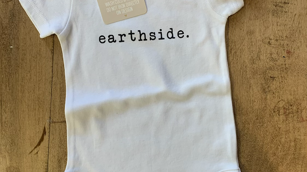 Earth side Onesie