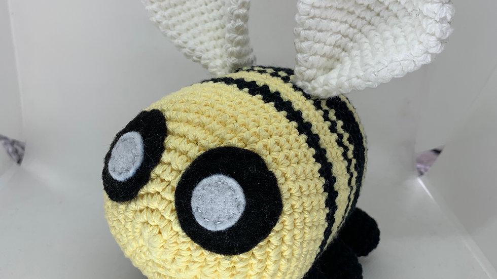 Crochet Bumblebee Stuffed Animal