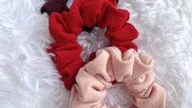 Textured Scrunchies