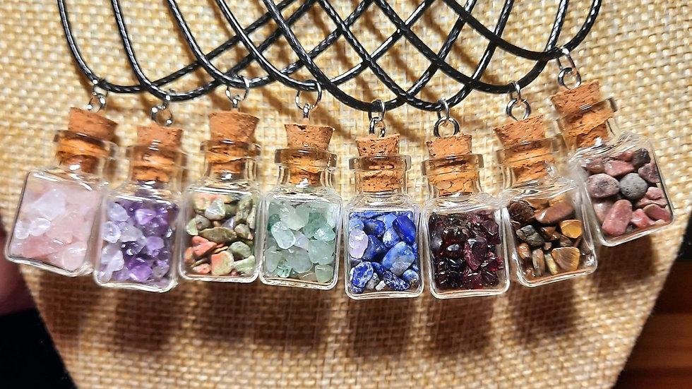 Chip Gemstone Necklace