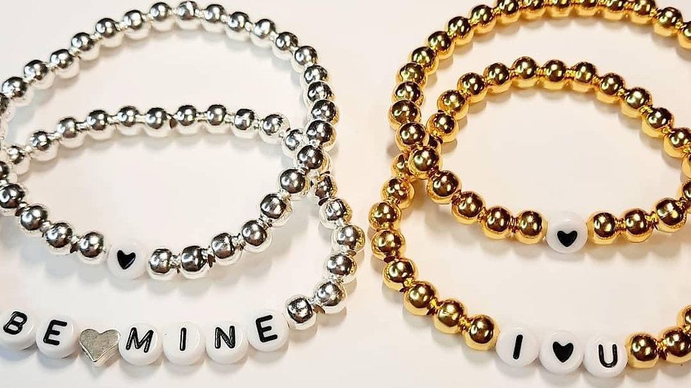 Be Mine Bracelet Set