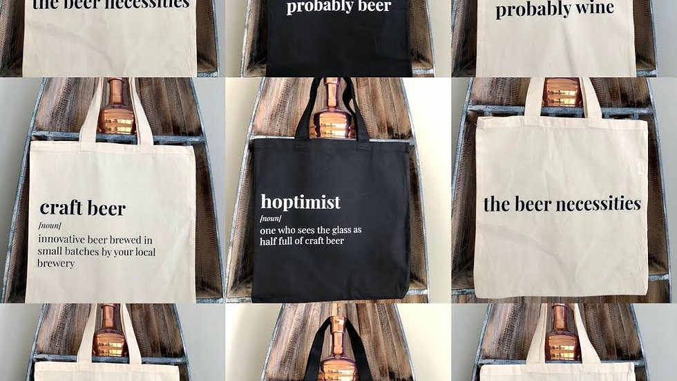 Alcohol Tote Bags