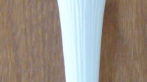 Leather Rose in vase