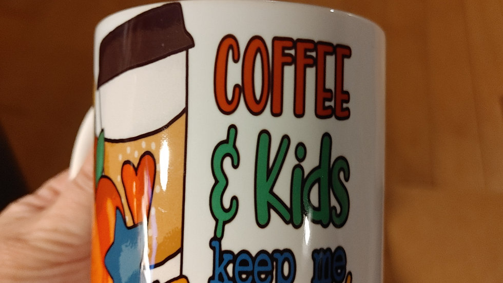 Coffee and Kids Mug