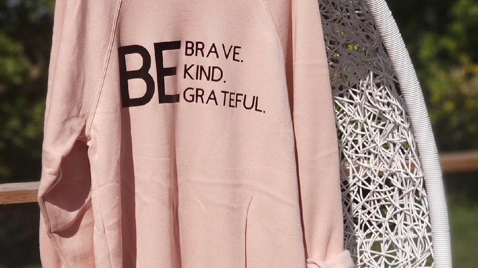 Be Brave Crewneck