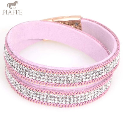 Armband Crystal Light Purple