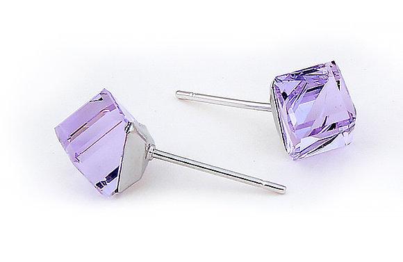 Örhängen Crystal Violet