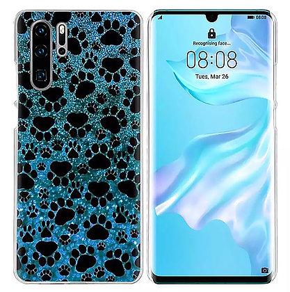 Mobilskal Huawei Blue Pawprints