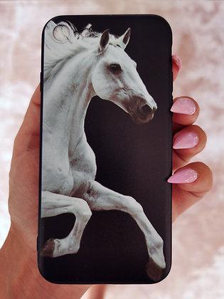 Mobilskal iPhone White Horse