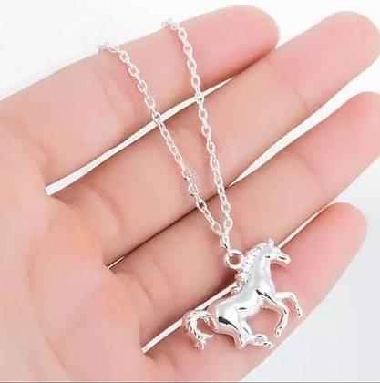 Halsband Häst Silver
