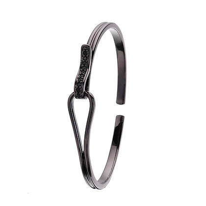 Armband Rostfritt stål Black