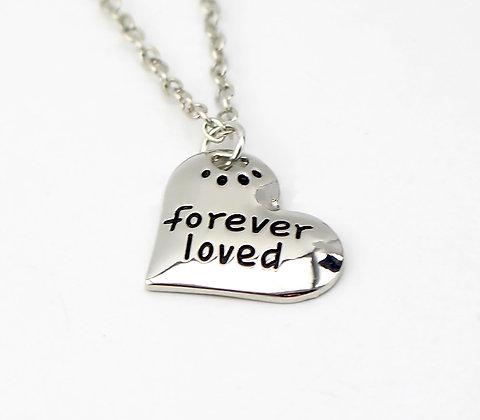 Halsband Forever loved