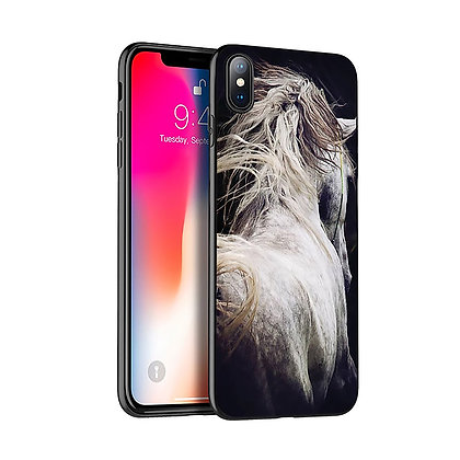 Mobilskal iPhone Apelkastad Häst