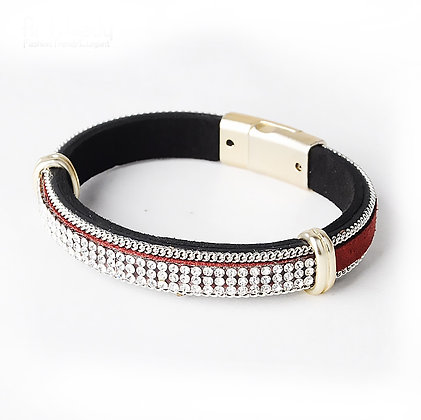 Armband Red Bling