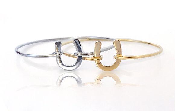 Armband Horseshoe Gold