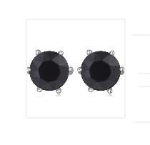Örhängen Swarovski Black