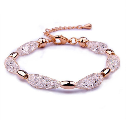 Armband Crystal Rose Gold