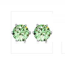 Örhängen Swarovski Emerald Green
