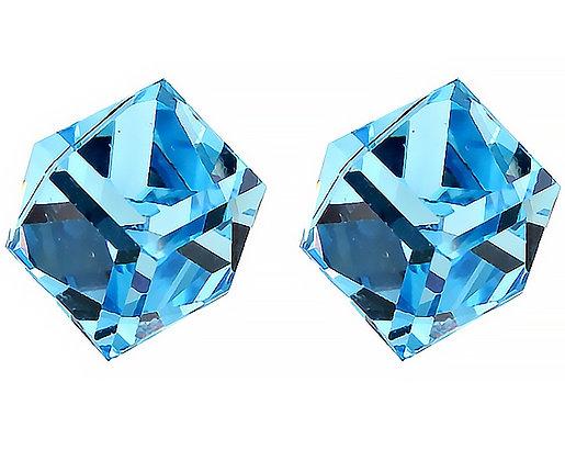 Örhängen Crystal Sea Blue