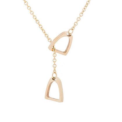 Halsband Stigbygel Guld