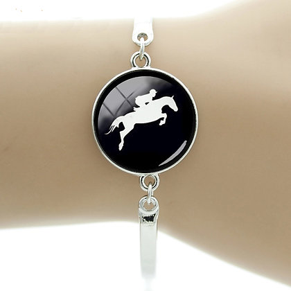 Armband Showjumper Silver