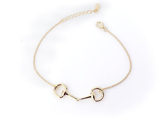 Bettarmband Gold Sterling Silver