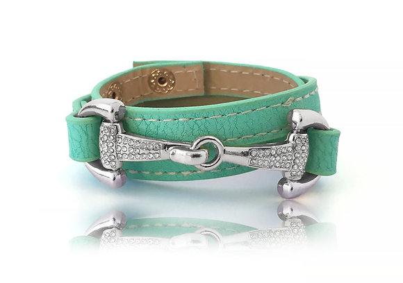 Bettarmband Mint Silver Bling