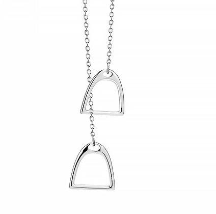 Halsband Stigbygel Silver
