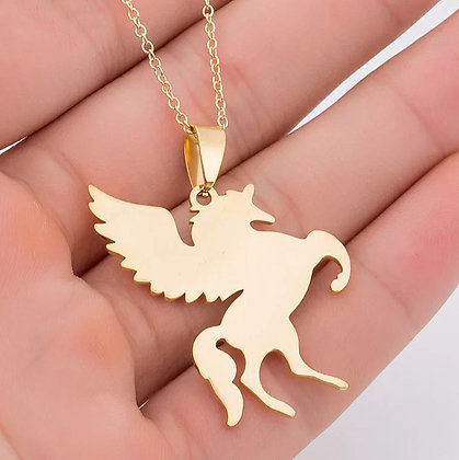 Halsband Unicorn Gold