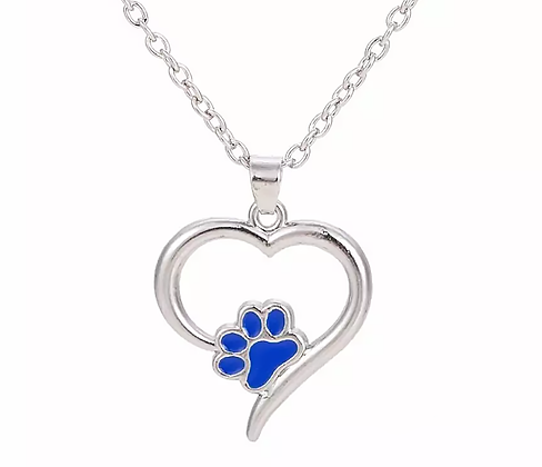 Halsband Blue Love