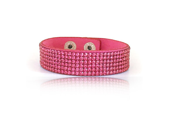 Armband Cerise Glitter