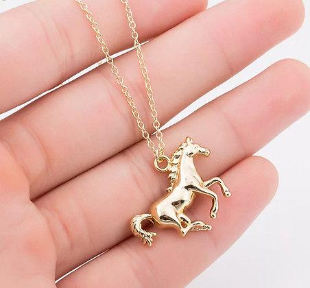 Halsband Häst Guld