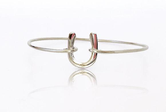 Armband Horseshoe Silver