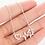 Thumbnail: Halsband Häst EKG Silver