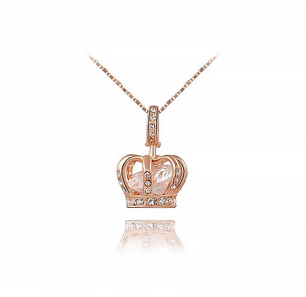 Halsband Imperial Crown Rose Gold