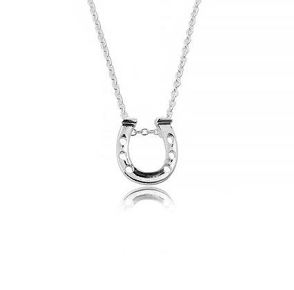 Halsband Hästsko Silver