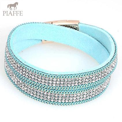 Armband Crystal Aquamarine