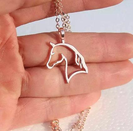Halsband Häst Roséguld