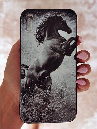 Mobilskal iPhone Rearing Horse