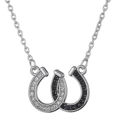 Halsband Hästskor Black & White