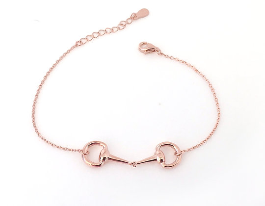 Bettarmband Rose Gold Sterling Silver