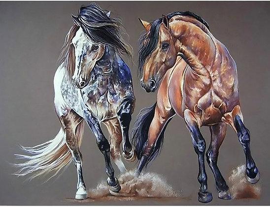 Diamond Painting Horses