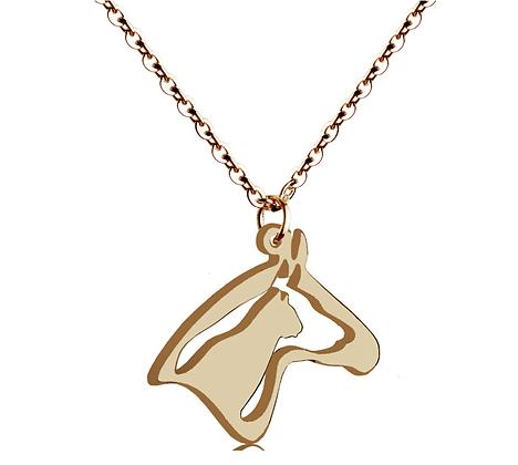 Halsband Rose Gold Horse Dog Cat