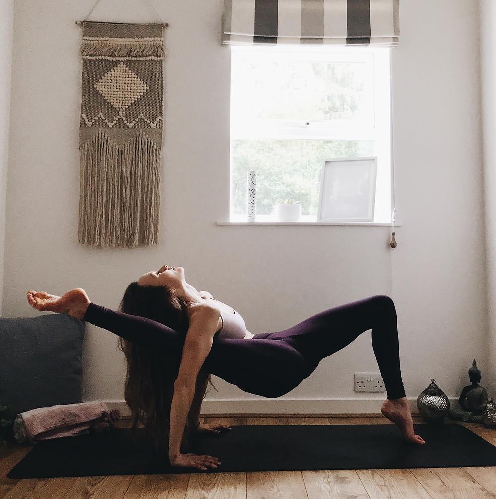 Svadhisthana - hip opening - sitting with discomfort