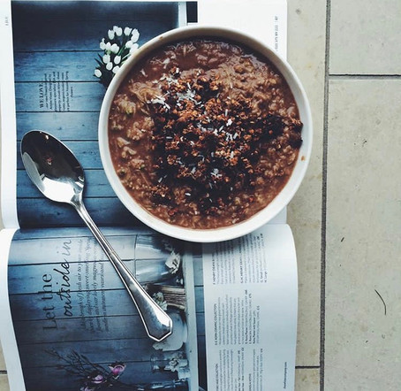 CHOCOLATE COURGETTE OATS