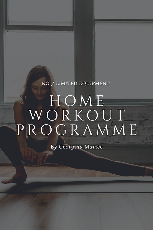 No Equipment Home Programme
