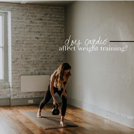 Will Cardio Affect Weight Lifting Progress?
