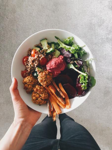 Kitchen Cupboard Vegan Falafel Bowl